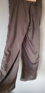 Fila 90's style olive green flowy fit track pants
